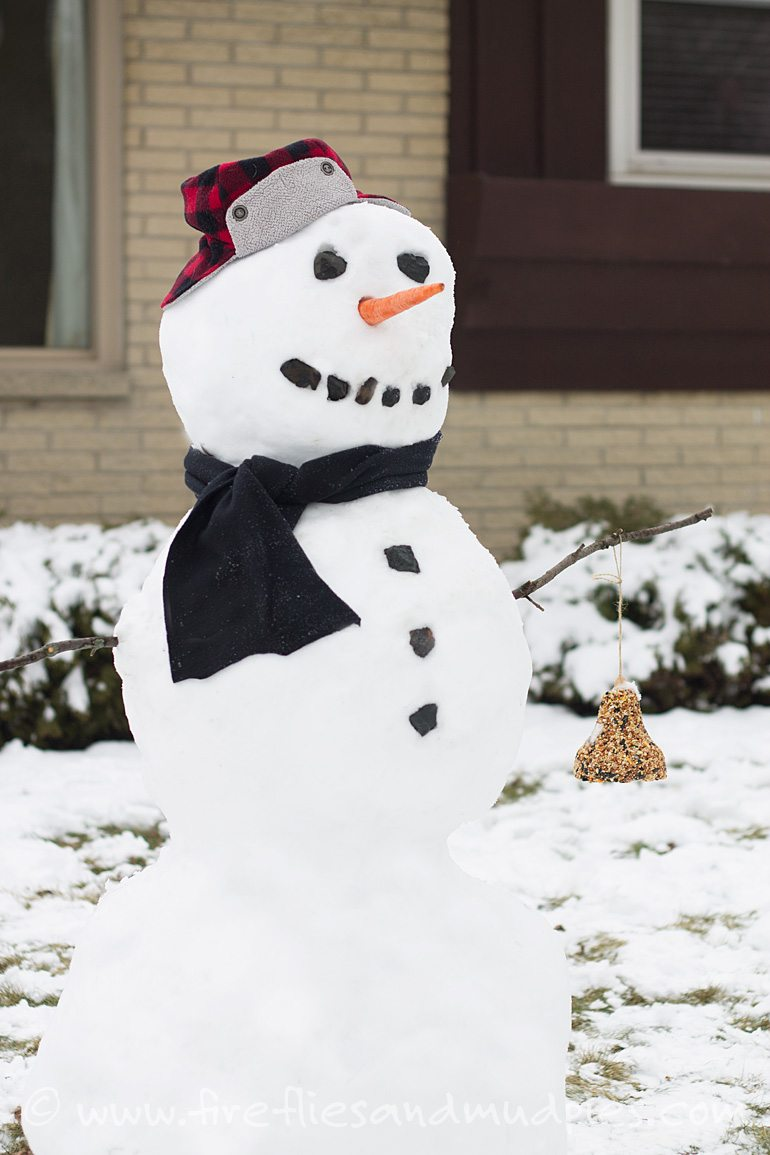 Nature-Snowman-for-Kids