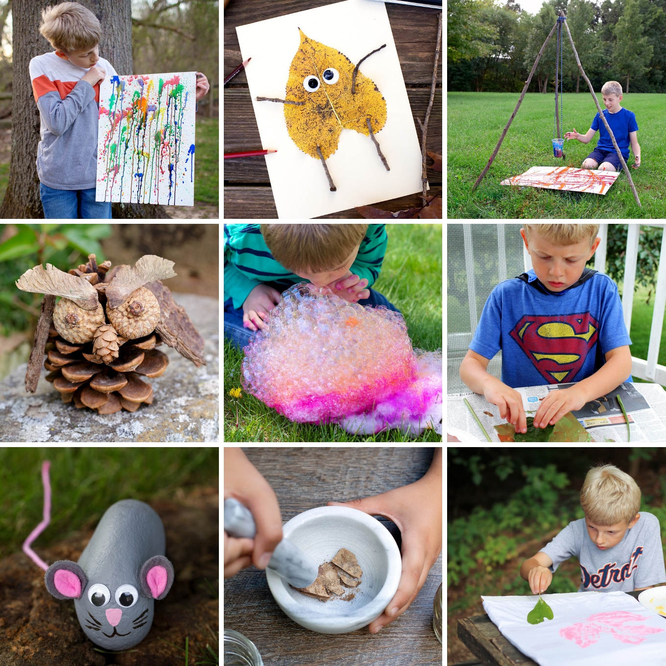 10+ Creative and Fun Outdoor Art Ideas for Kids