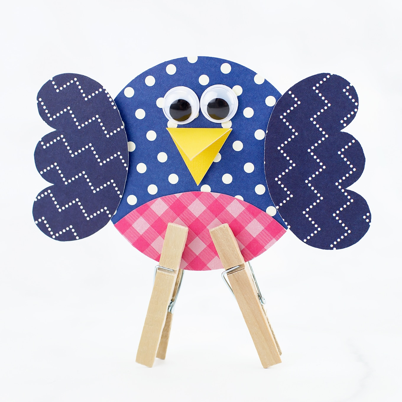Paper Bluebird Craft