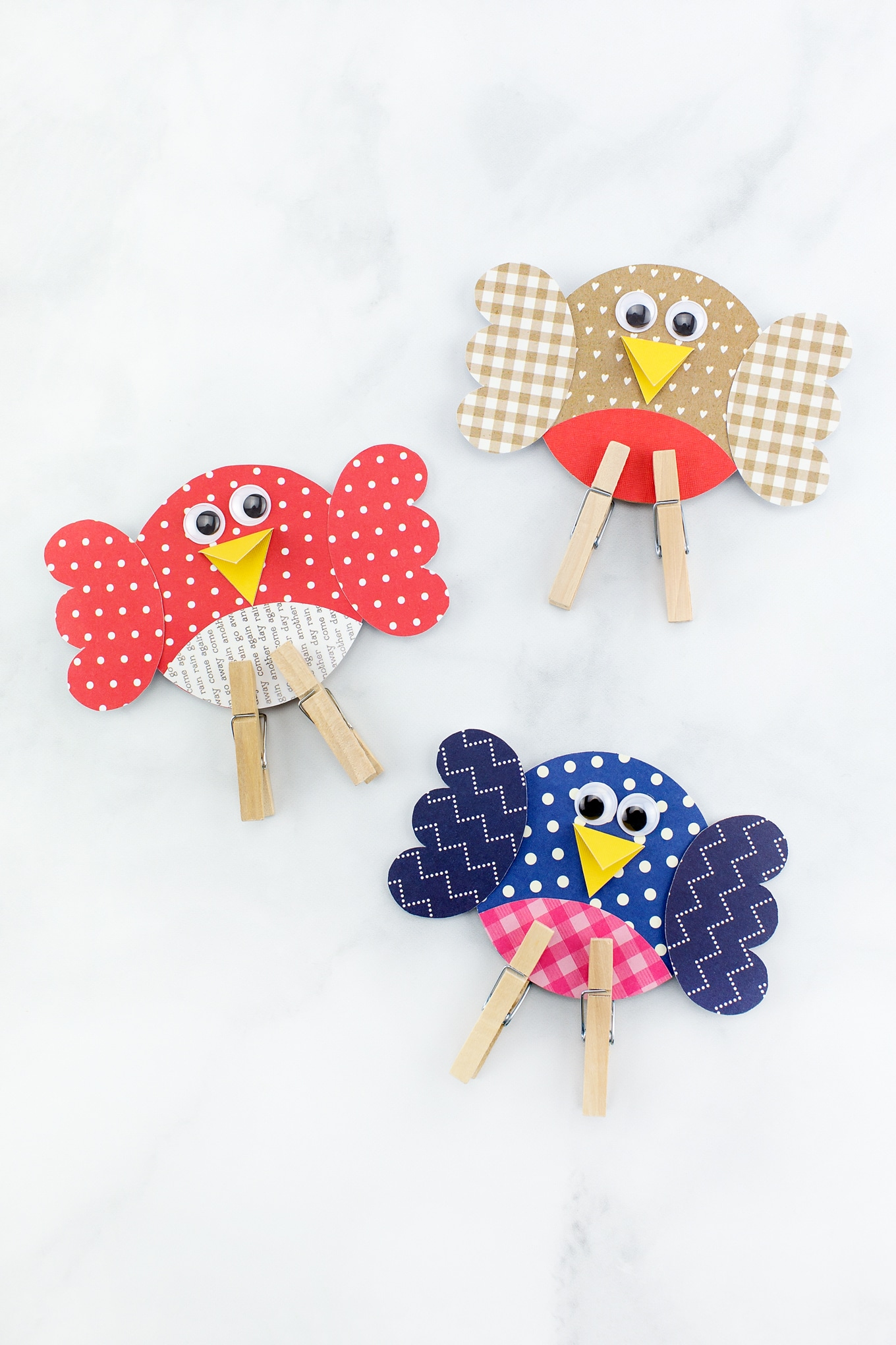 How to Make an Easy and Fun Paper Bird Craft