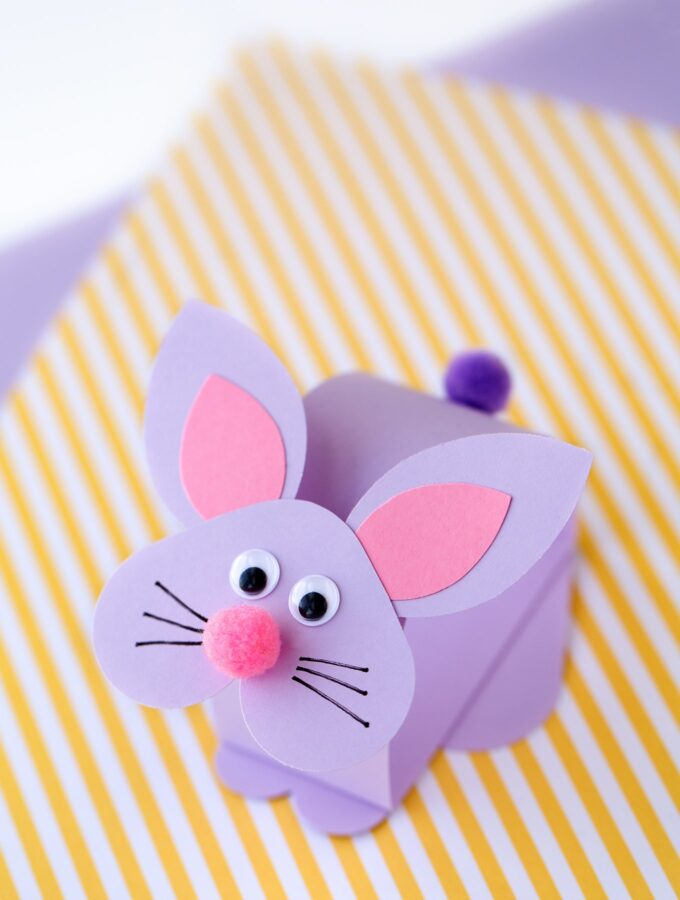 How to Make a Paper Bobble Head Bunny Craft