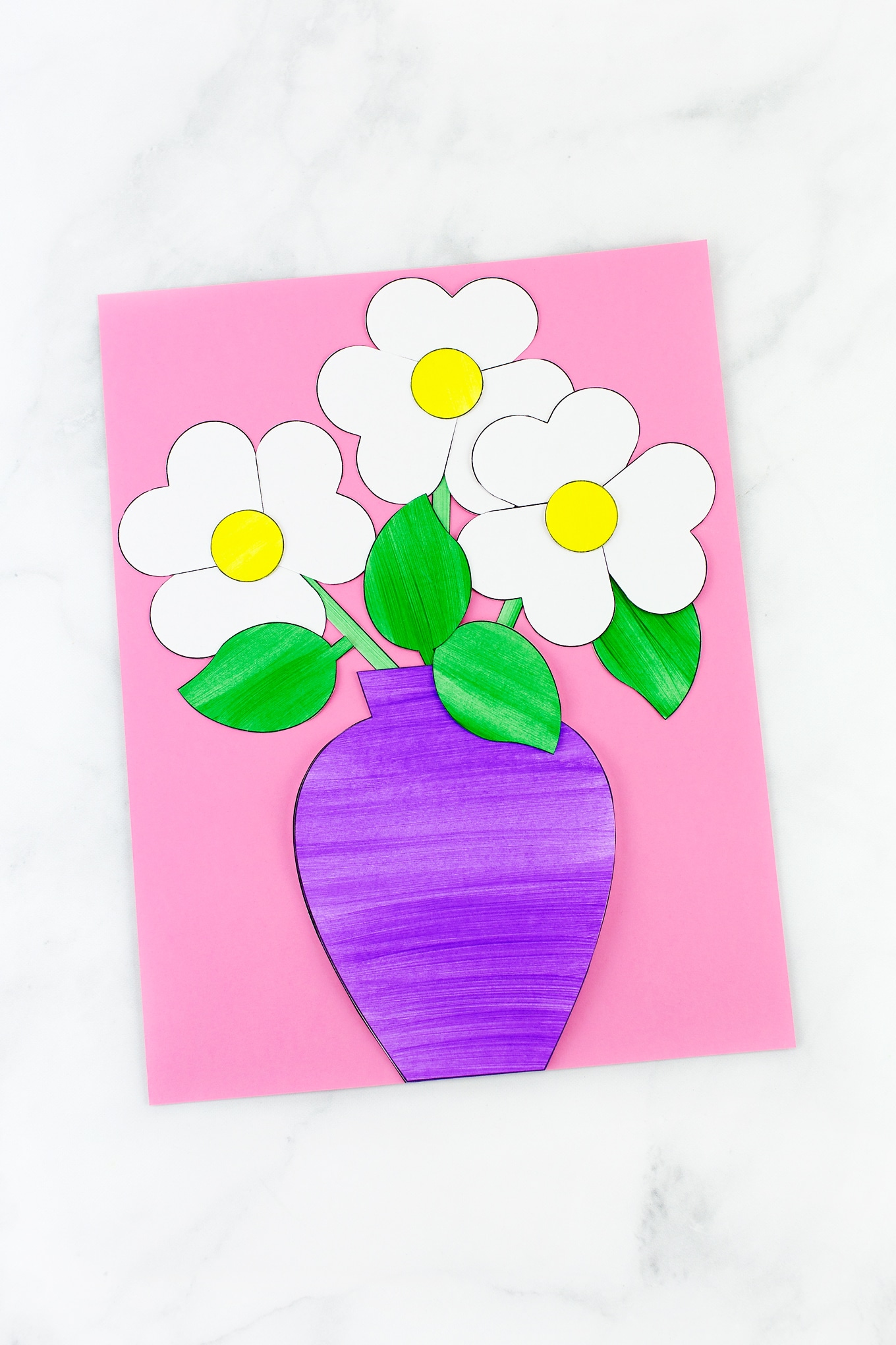Easy And Fun Paper Flower Bouquet Craft Fireflies And Mud Pies