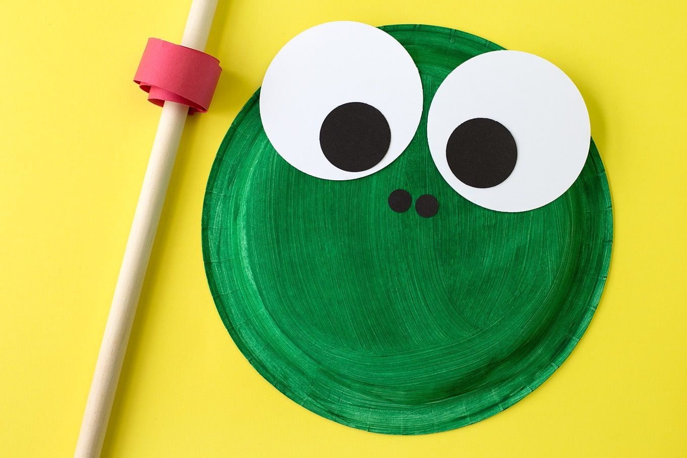 This easy paper plate frog craft is perfect for helping kids learn all about the life : paper plate frog template - pezcame.com