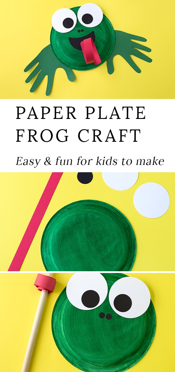 Learn how to make an adorable and fun Paper Plate Frog Craft for summer. This  sc 1 st  Fireflies and Mud Pies & How to Make a Paper Plate Frog Craft