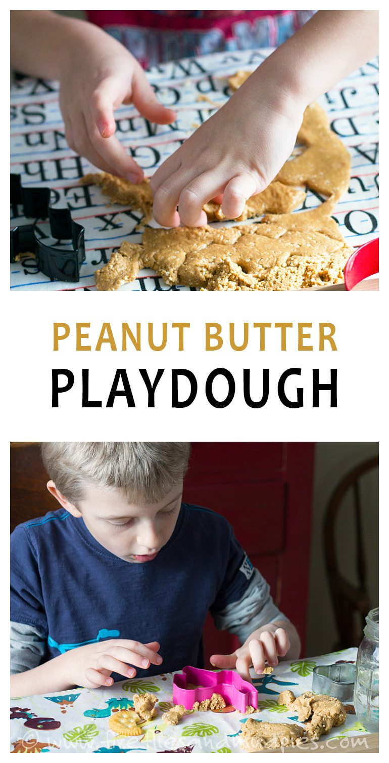 Edible Peanut Butter Playdough | Fireflies and Mud Pies