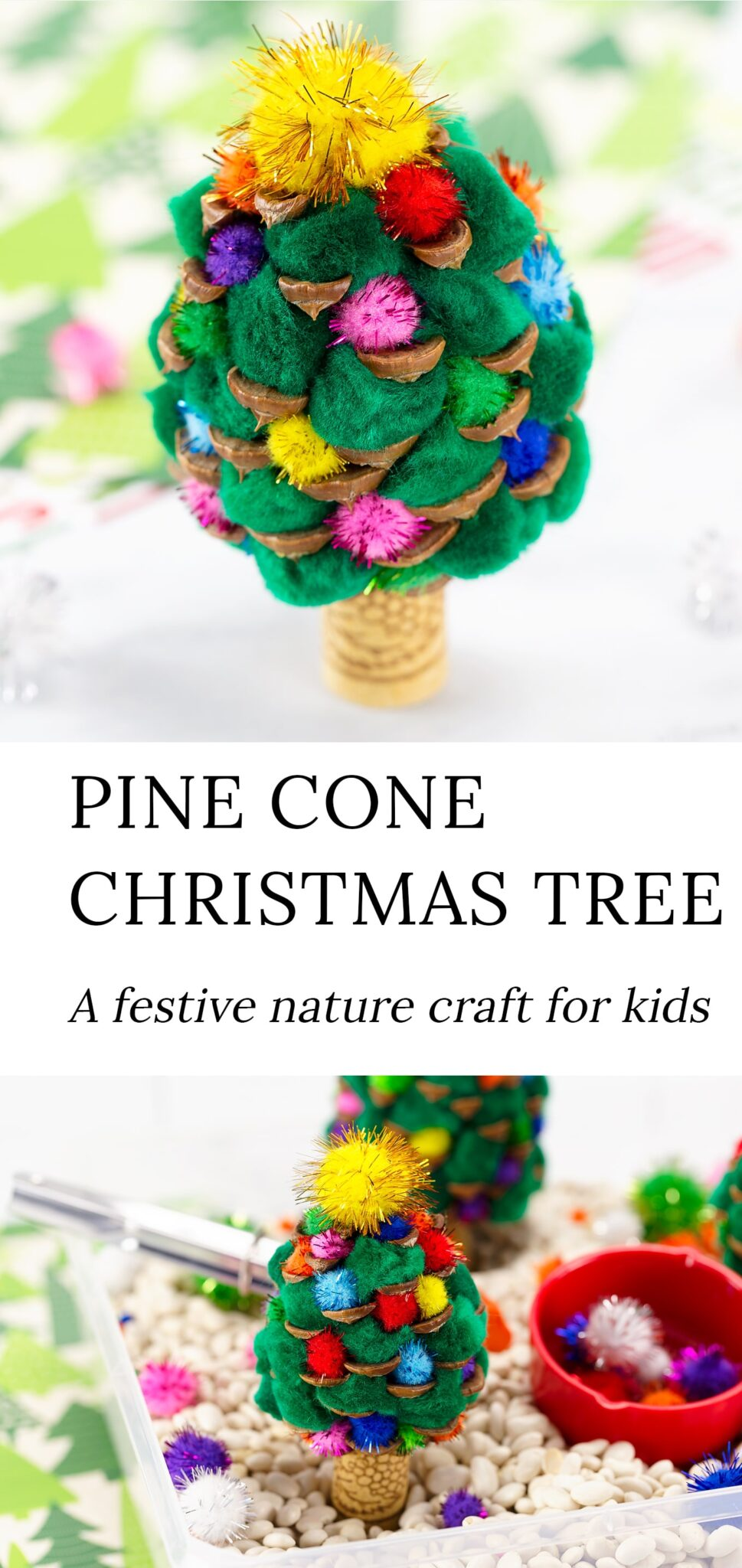 Pine Cone Christmas Tree Fireflies And Mud Pies