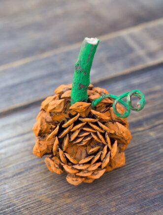 Pine Cone Pumpkin