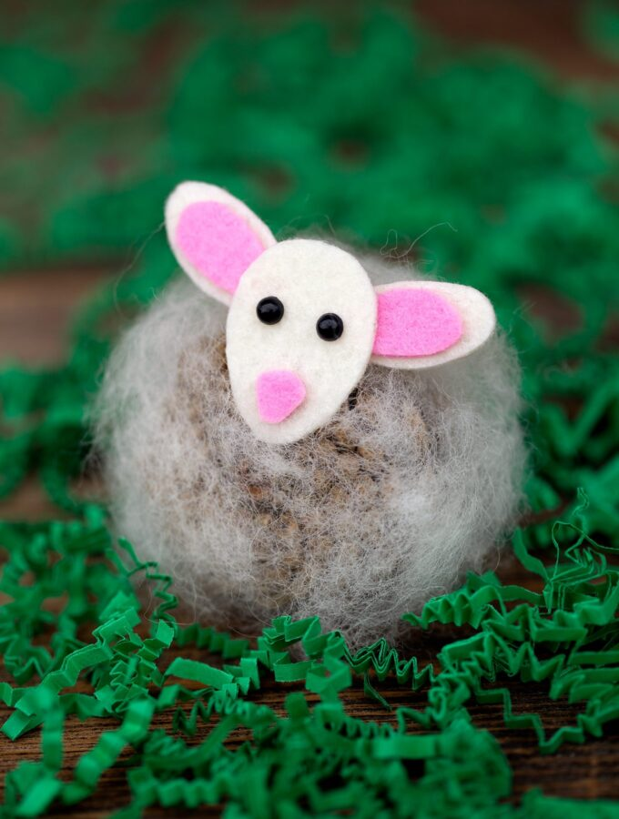 Pine Cone Lambs: A Spring Nature Craft for Kids