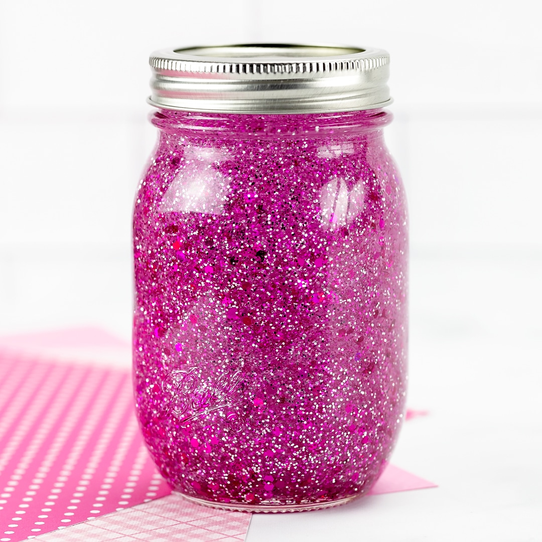 Pink Glitter Jar Instructions Fireflies And Mud Pies
