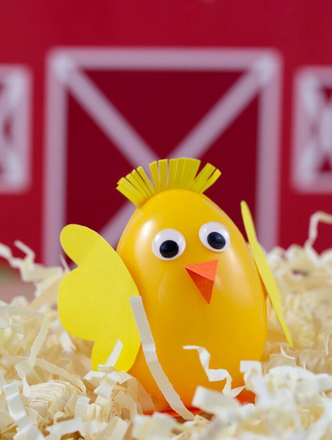 How to Make Easter Egg Chicks