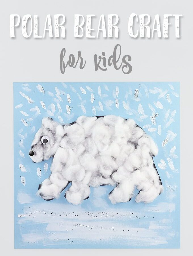 Free Printable Polar Bear Craft for Kids