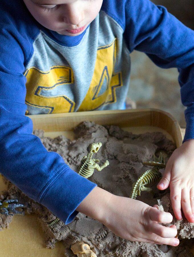 Preschool Dinosaur Dig