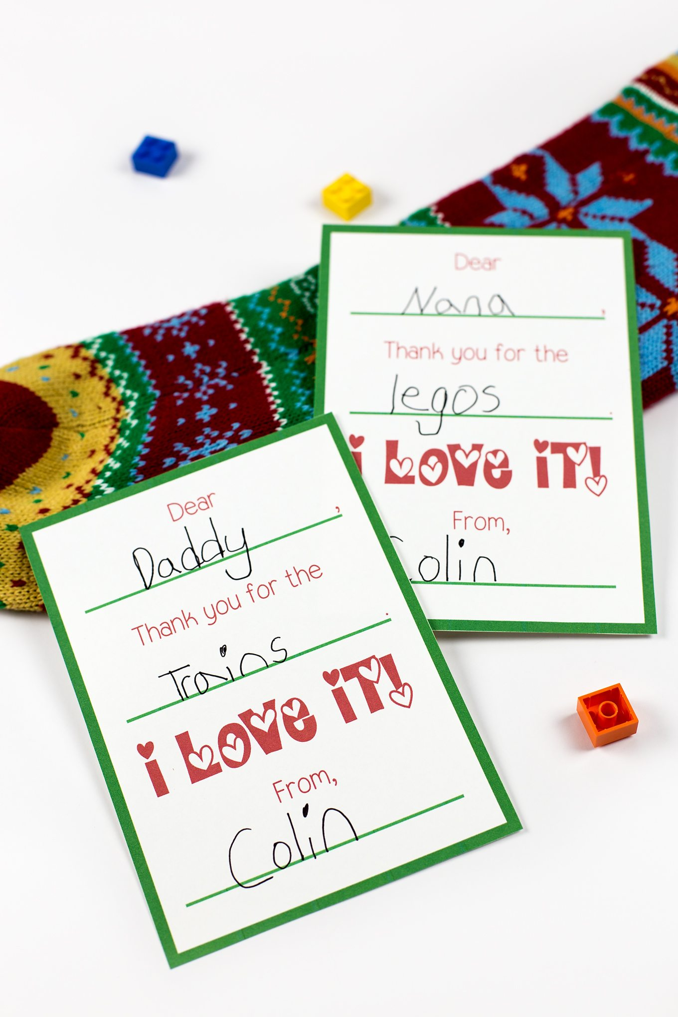 picture relating to Free Printable Thank You identified as Printable Xmas Thank Your self Playing cards