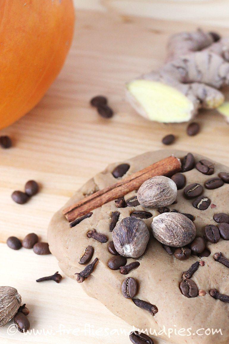 Pumpkin Spice Playdough   Fireflies and Mud Pies