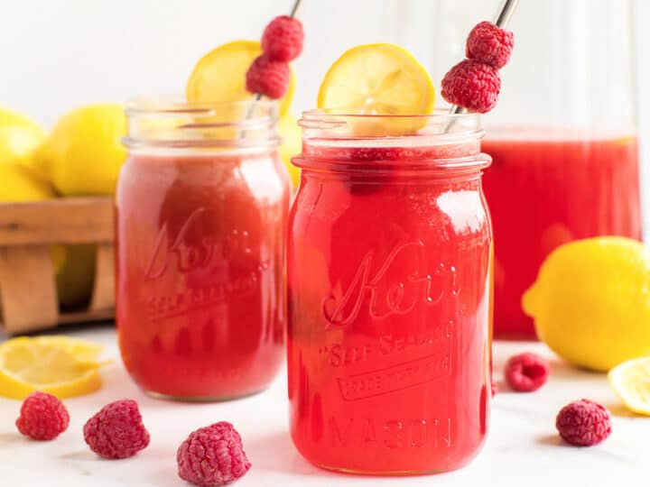 Fresh Raspberry Lemonade Recipe
