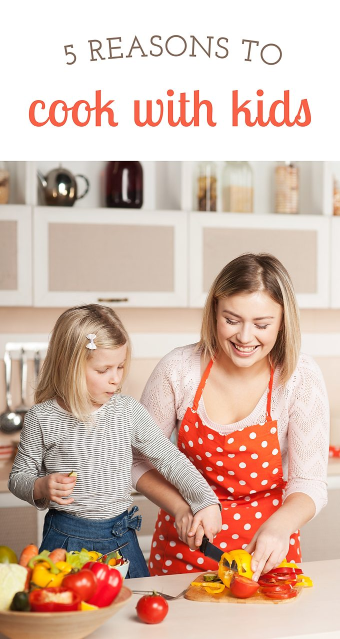 Do you have a favorite recipe to cook with kids? Whether dessert, dinner, breakfast, or lunch, cooking with kids is fun and has many positive benefits for both parent and child.