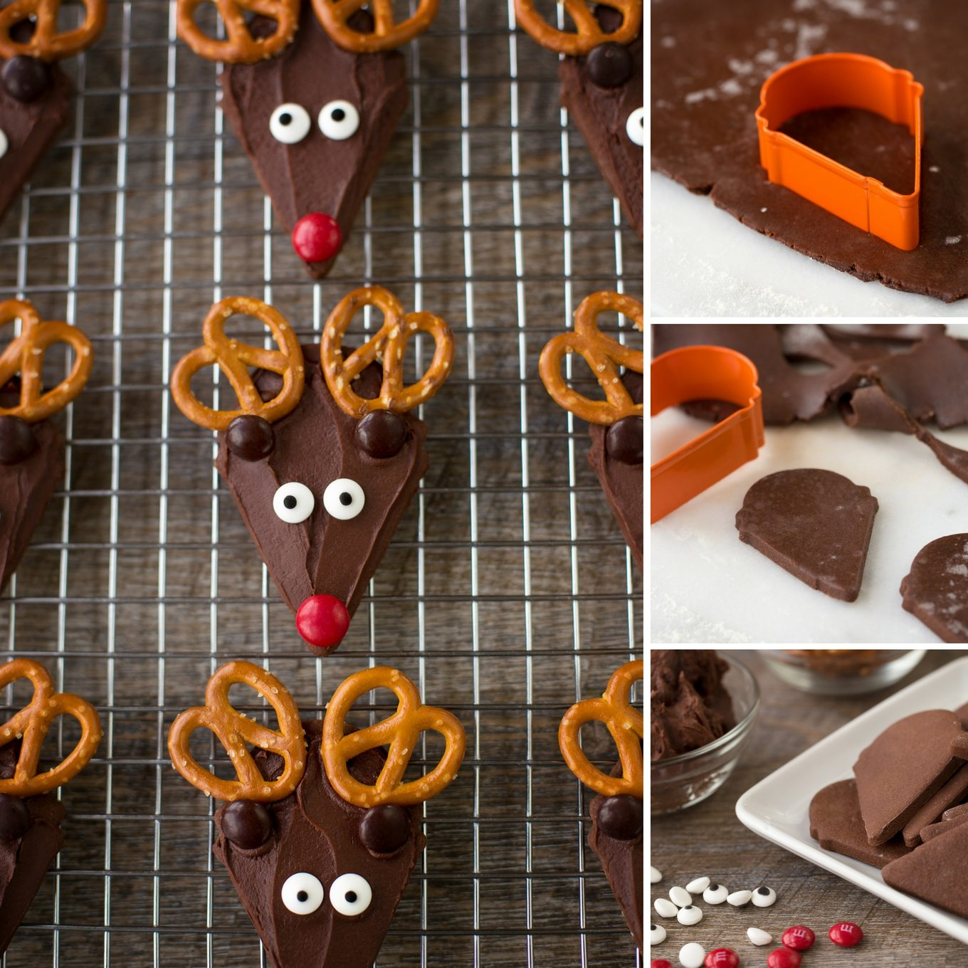 The Best Chocolate Reindeer Cookies