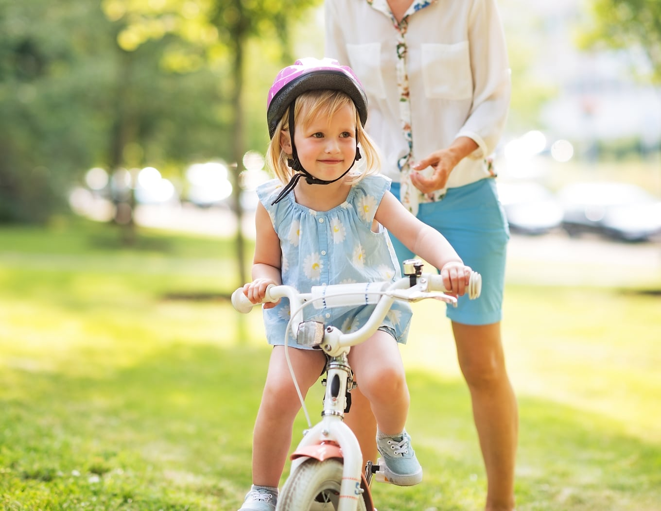 Ditch the training wheels in 30 minutes or less with proven tips to get your kid from scared to confident about riding a bike.