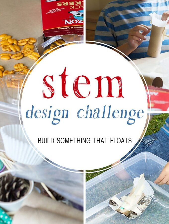 STEM Design Challenge: Build Something That Floats