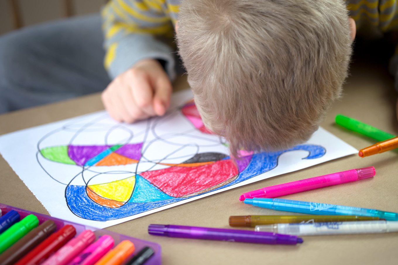 Scribble Drawing For Kids : Scribble art for kids