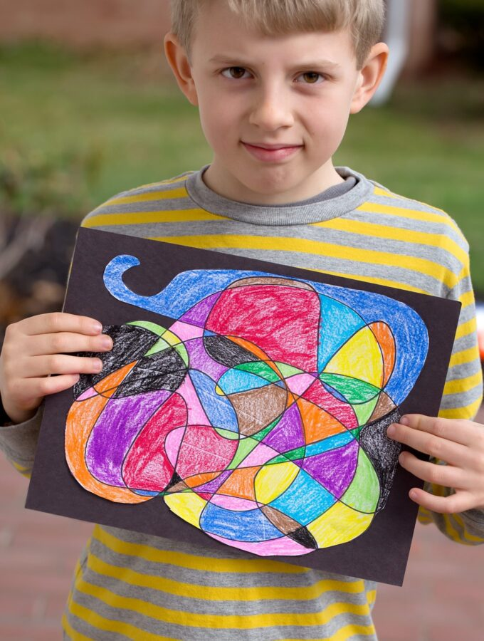 Scribble Art: Creative Art for Kids