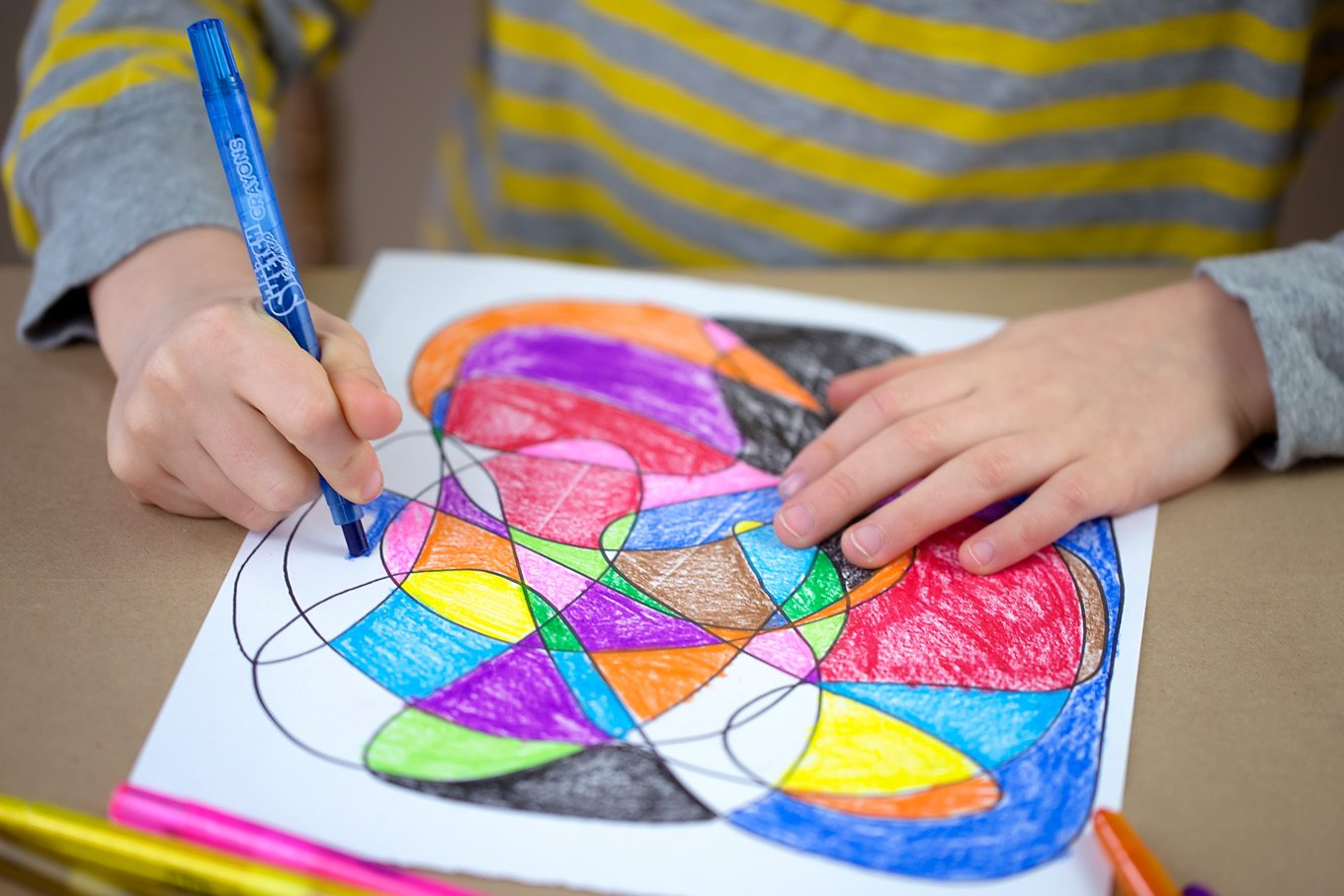 Scribble Art Creative Art For Kids