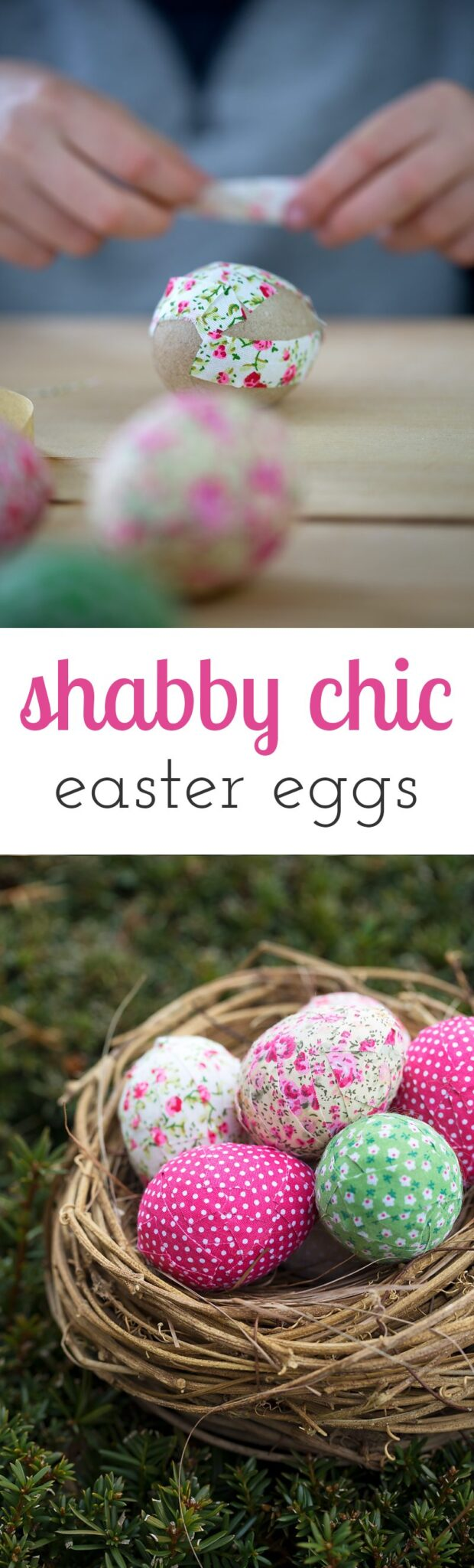 Super simple shabby chic easter eggs for Shabby chic instagram