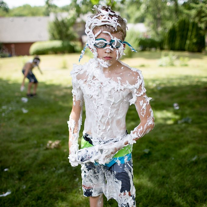 Shaving Cream War