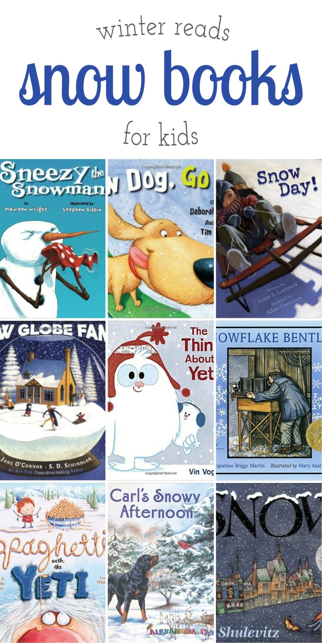 Snow Books for Kids