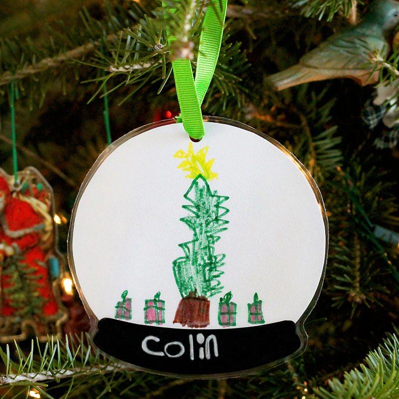 Snowglobe Keepsake Ornament
