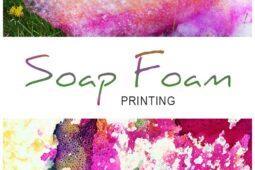 Soap-Foam-Printing-for-Kids