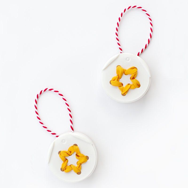 Spice Jar Lid Star Ornament