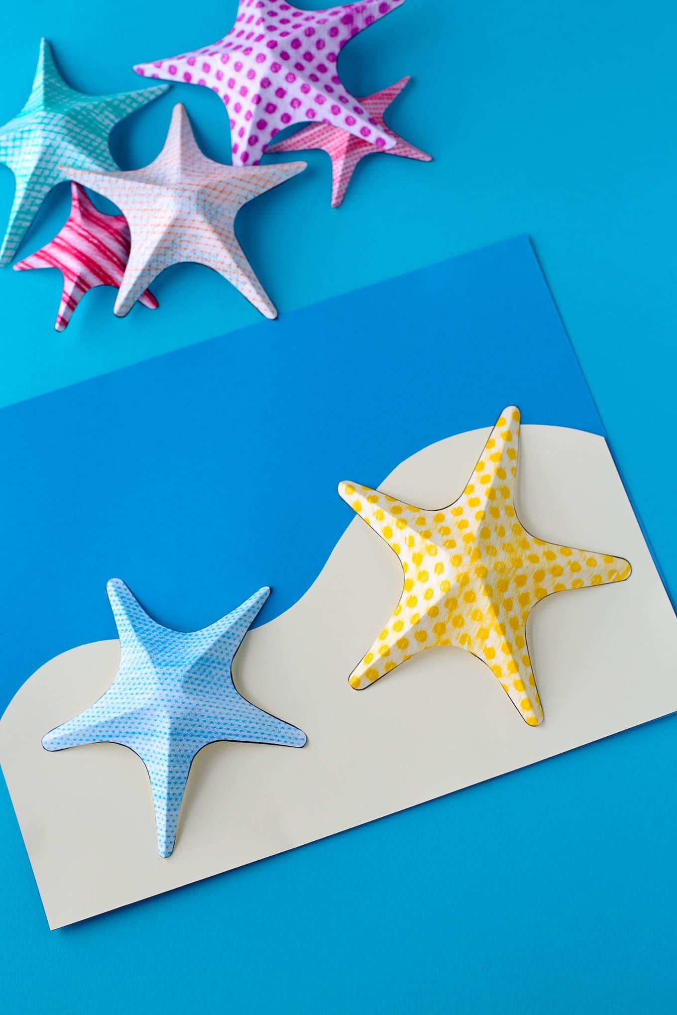 Starfish Texture Art