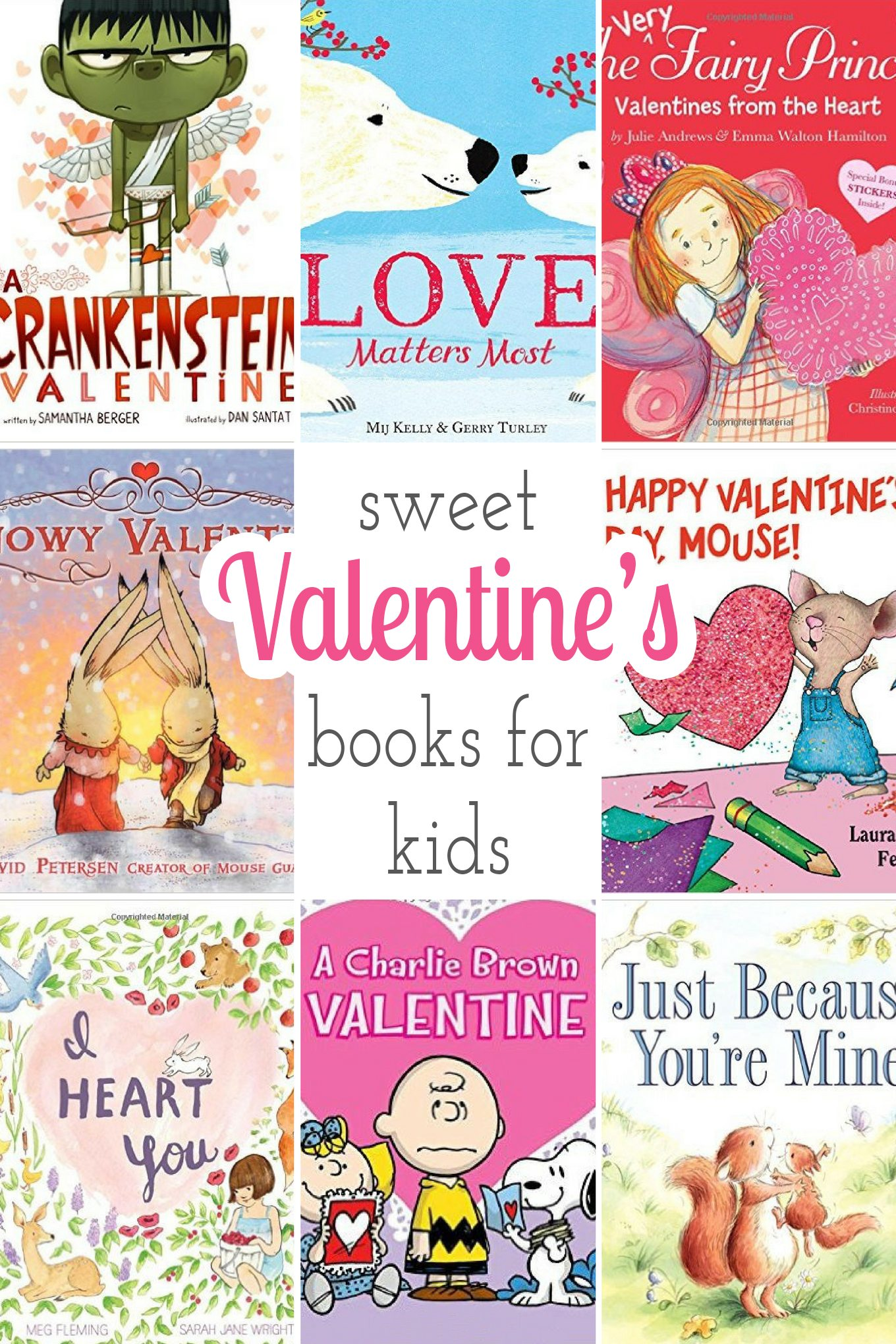 Sweet Books for Valentine's Day