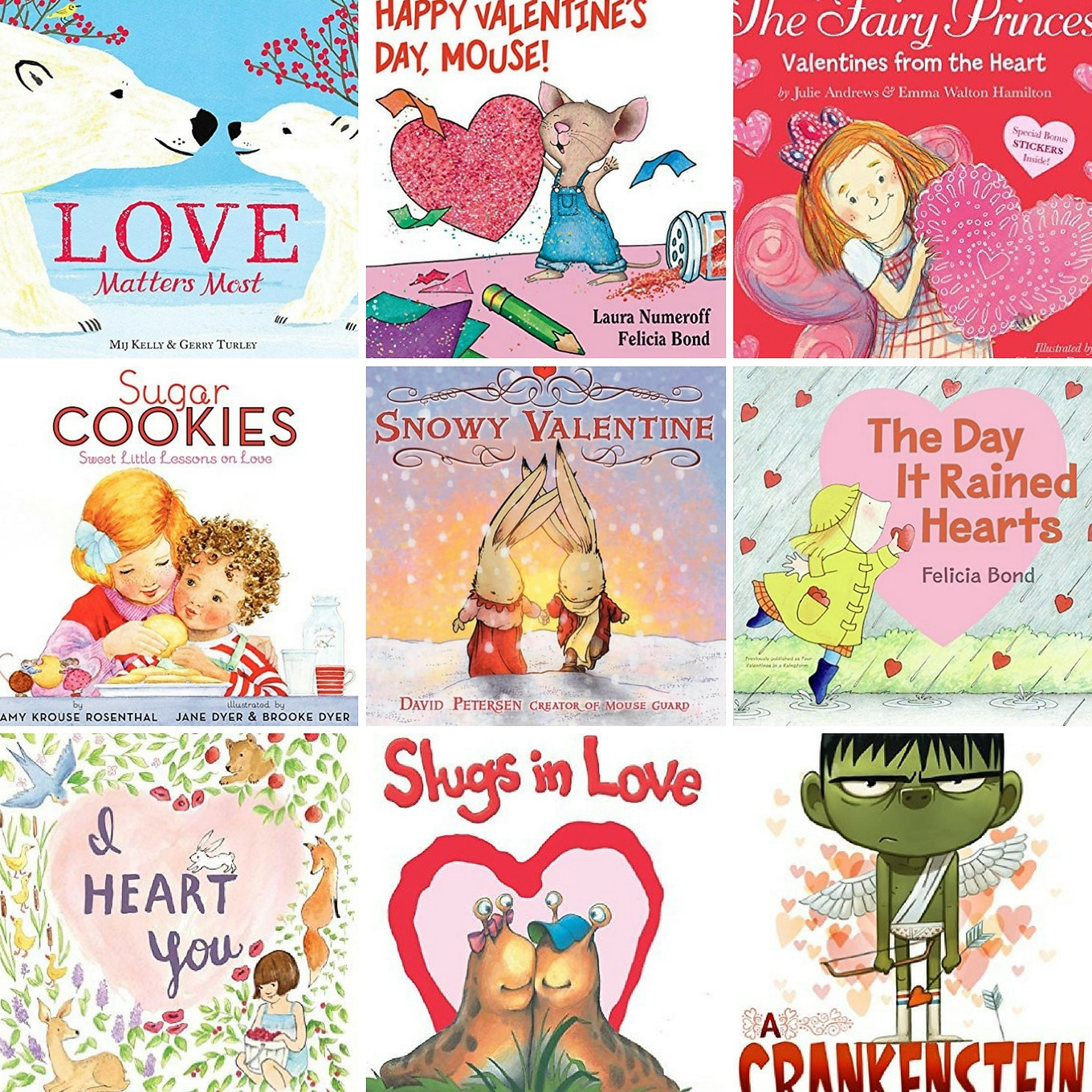 Sweet Valentine Books for Kids