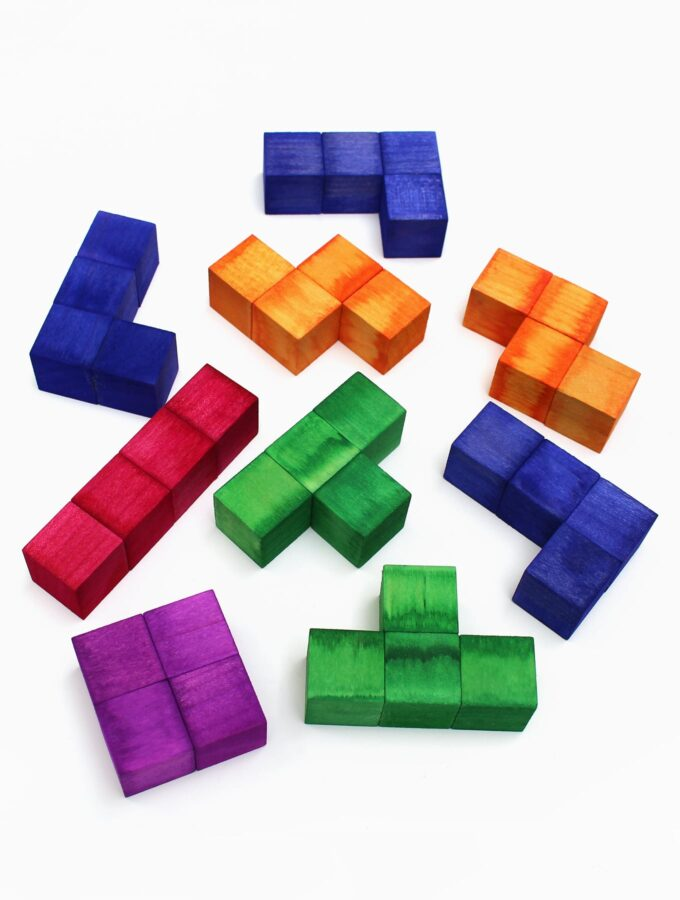 How to Make a Tetris Inspired Puzzle for Kids