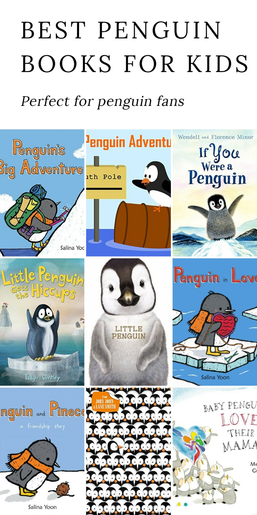 The Best Penguin Books for Kids