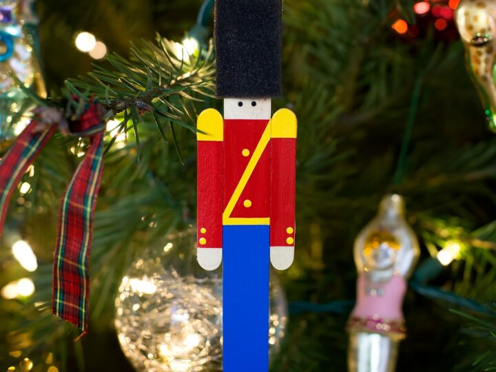 Popsicle Stick Toy Soldier Ornament
