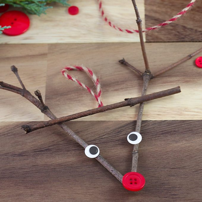 Twig Reindeer Ornaments