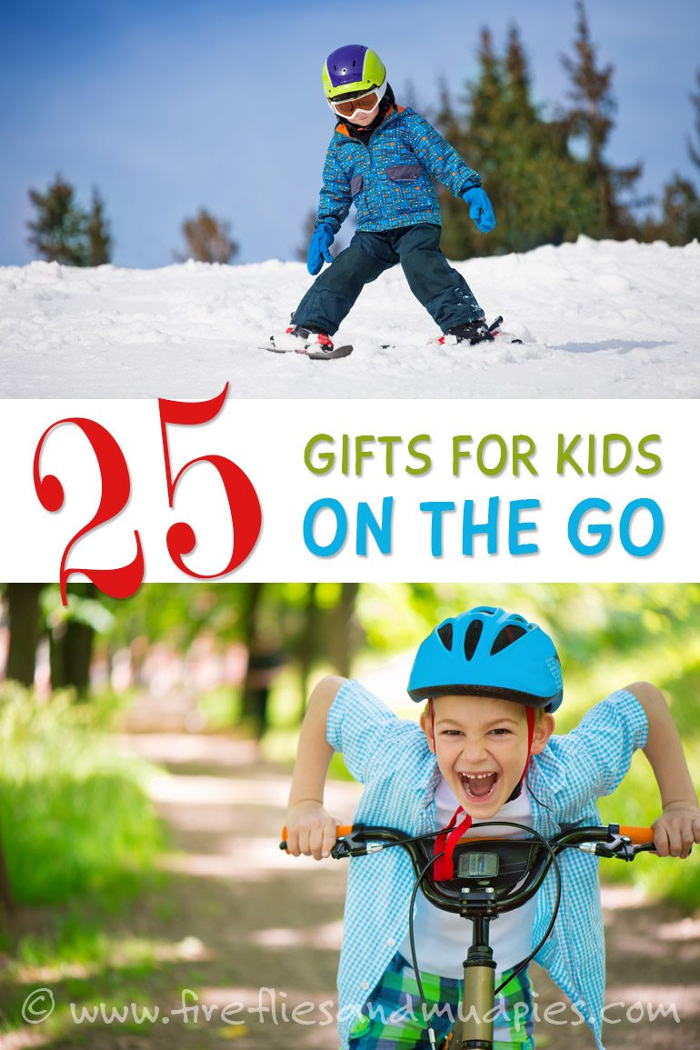 25 Gifts for Kids on the Go