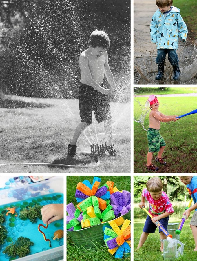 Summer Water Play Ideas for Kids