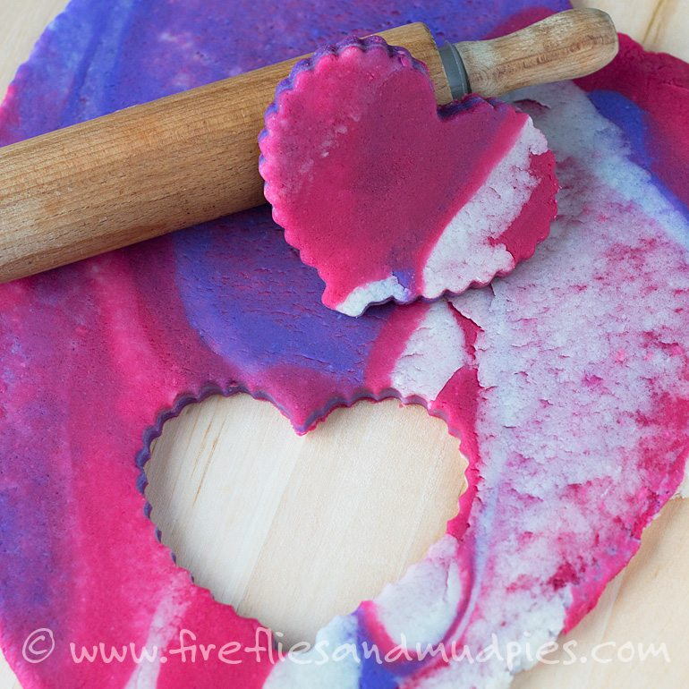 Valentine Playdough for Sensory Play | Fireflies and Mud Pies