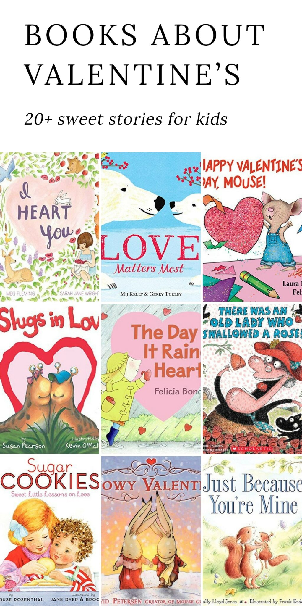 sweet valentines day books for kids valentine stories valentine books for preschool