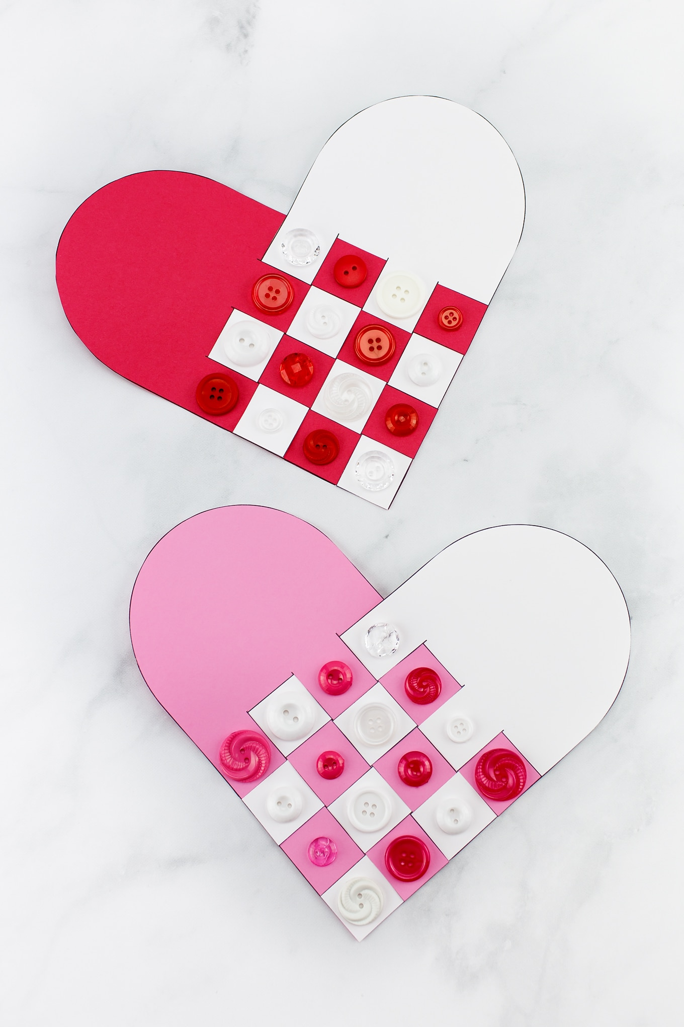 Woven Heart Valentine's Day Craft