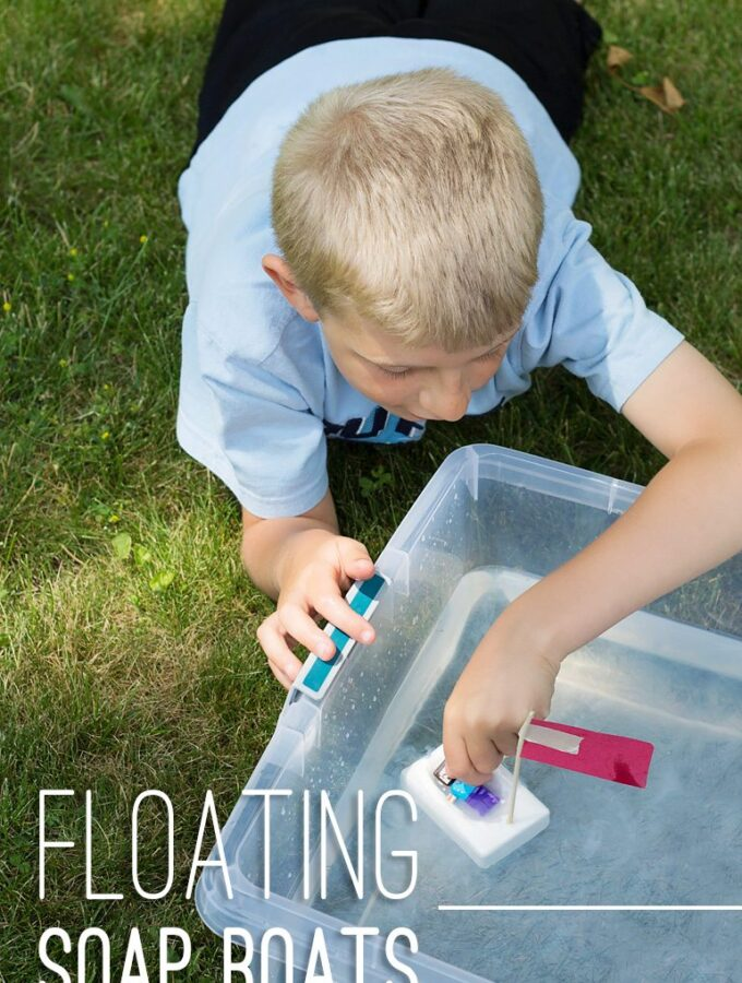Floating Soap Boats: Easy Summer Fun