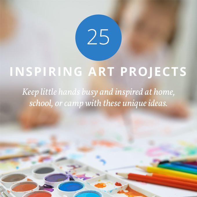 25 Inspiring Art Projects