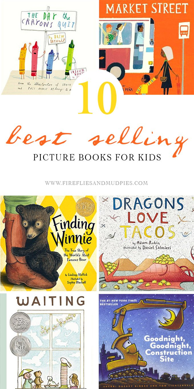 10 Bestselling Picture Books for Kids