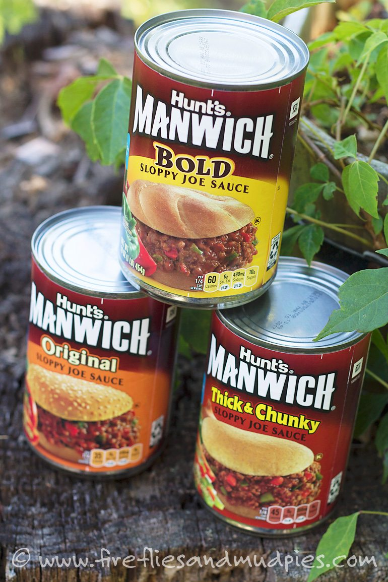 Manwich Monday | Fireflies and Mud Pies