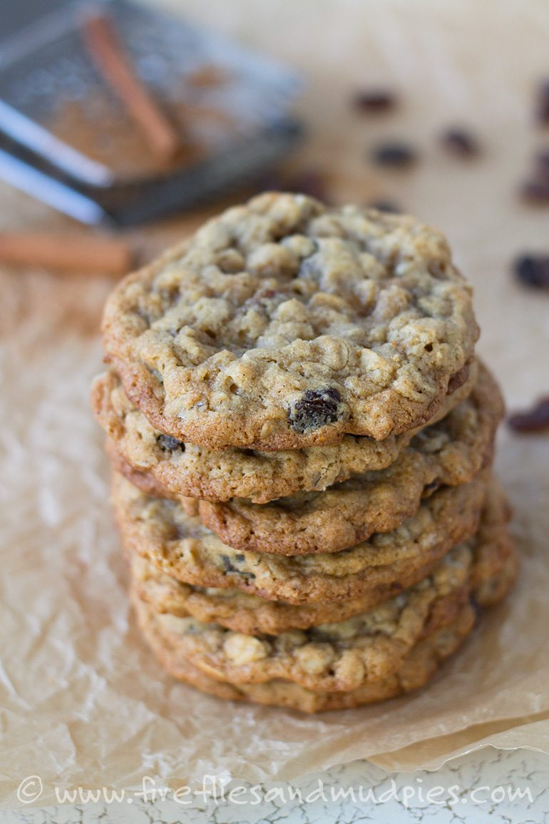 Fresh Oatmeal Raisin Cookies | Fireflies and Mud Pies