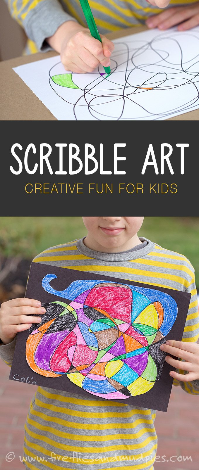 Scribble Drawing For Kids : Scribble art for kids